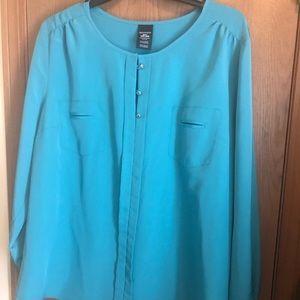Beautiful sea foam green blouse.. brand new